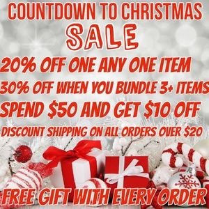 Countdown to Christmas Sale!
